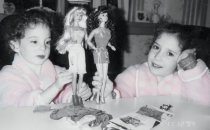 barbie dolls, barbie, daughters, play, dolls, girls, children, fun, dress up, singing, happiness, lynne st. james