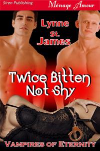 vampires, gypsies, love, erotic romance, book 1, eternity series, lynne st. james