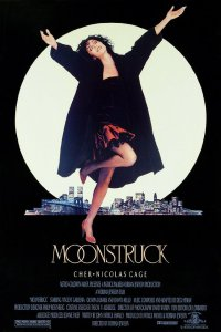 Moonstruck, cher, nicholas cage, olympia dukakis, movie, love, Italian, New York, New York City, Moon, bella luna, family, lynne st. james, twice bitten and bewitched