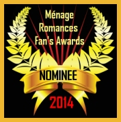 nominee, 2014 menage fan award, twice bitten and bewitched, lynne st. james