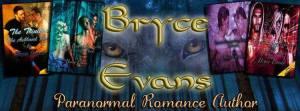 Bryce Evans, paranormal romance, paranormal, romance author, jk publishing