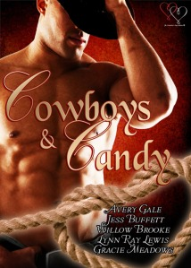 cowboys and candy, cowboys, candy, valentine anthology, valentine, sexy, book, avery gale, jess buffett, willow brooke, lynn ray lewis, gracie meadows