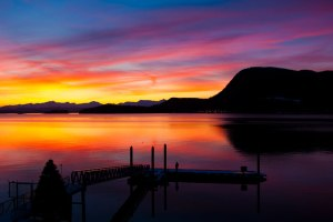 Juneau Sunset, mark kelley, alaska, sunset