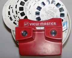 View master, view master reels, toy, lynne st. james